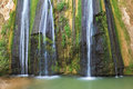 The Three-jet Waterfall In Northern Israel Stock Images - 46054314
