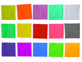 Sticky Colored Paper Template Royalty Free Stock Photos - 46081728