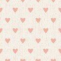Abstract Seamless Retro Pattern With Hearts Royalty Free Stock Photography - 46086507