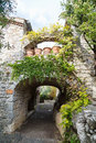 Archway And Paths In France Stock Photos - 46089483