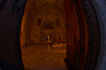Entrance To Church Inside Studenica Monastery At Evening Royalty Free Stock Image - 46095576
