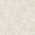Rose And Butterfly Seamless_pattern Pastel Color Stock Photo - 46103910