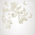 Elegance Pattern With Flowers In Vintage Style.Card For Mothers Day Royalty Free Stock Photo - 46103955