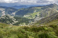 View From A Mountain To A Valley Stock Photography - 46104192