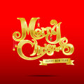 012-Merry Christmas Text 003 Royalty Free Stock Photos - 46136708