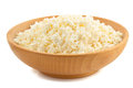 Cottage Cheese In Bowl Stock Image - 46139101