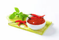 Hot Tomato-Pepper Sauce Royalty Free Stock Image - 46139816