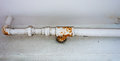 Rusted Pipe Royalty Free Stock Photo - 46161135
