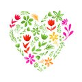 Watercolor Heart Royalty Free Stock Image - 46167016
