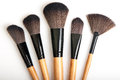 Makeup Brushes Stock Image - 46183431
