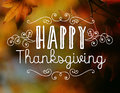 Happy Thanksgiving Stock Photography - 46185232