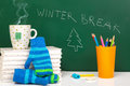 Winter Time Is Here Stock Images - 46192034