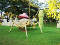 Insect Statues At NTR Garden, Hyderabad Royalty Free Stock Photography - 46194777
