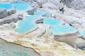 Travertine Pools And Terraces In Pamukkale, Turkey Royalty Free Stock Photography - 46217117