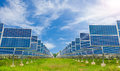Power Plant Using Renewable Solar Energy With Blue Sky Stock Photography - 46224772