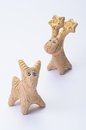 Clay Figurines Of A Goat Royalty Free Stock Photo - 46240855