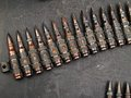 Bandoleer Of Bullets Stock Images - 46258074