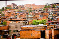 Medellin City Favela Type Housing Near Downtown Royalty Free Stock Images - 46260999