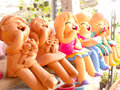 Clay Dolls Stock Photography - 46263232