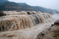 Hukou Waterfall Of China S Yellow River Royalty Free Stock Image - 46278986