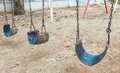 Swing In Children Playground Royalty Free Stock Images - 46279369
