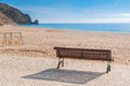 Secluded Place For Meditations On The Sea Shore. Stock Photo - 46303250