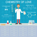 Chemistry Of Love Royalty Free Stock Image - 46312396