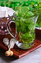 Tea With Mint Royalty Free Stock Image - 46312806