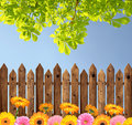 Wooden Fence Stock Photography - 46340542
