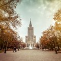 Palace Of Culture And Science Stock Images - 46345884