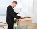 Businessman Moving Offices Royalty Free Stock Photos - 46357688