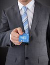 Businessman Giving His Credit Card Stock Images - 46358324