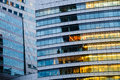 Multi Storey Building. Abstract Texture Of Blue Glass Modern Off Stock Photos - 46359573