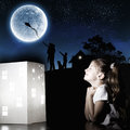 Night Dreaming Stock Images - 46380454