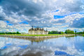 Chateau De Chambord, Unesco Medieval French Castle And Reflectio Royalty Free Stock Photography - 46383767