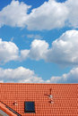 Roof And Sky Stock Images - 4641864