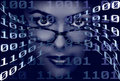 Binary Woman Stock Images - 4648254
