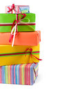 Colored Gift Boxes Royalty Free Stock Photos - 4648708