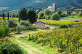 Country Road Leading To The Monastery Through The Vineyards Royalty Free Stock Photos - 46412718