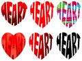 Characters Heart Stock Image - 46433321