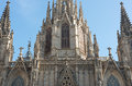 Cathedral Of Barcelona Stock Image - 46443081