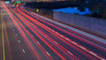 Car Lights At Night Stock Images - 46444854