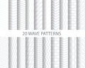 20 Wave Patterns Stock Images - 46448864