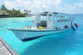 Passenger Boat In Clear Waters Stock Photo - 46455920