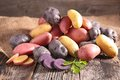 Assortment Of Potatoes Royalty Free Stock Photos - 46456438