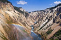 Grand Canyon Of The Yellowstone National Park Stock Image - 46464161