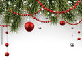 Christmas Background With Spruce Branches. Royalty Free Stock Photography - 46467307