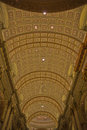 Ceiling Of The Cathédrale Marie-Reine-du-Monde Royalty Free Stock Photo - 46478345
