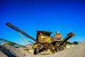 Industrial Gravel Quarry Stock Image - 46496781