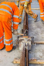Builders Weld And Joining Segments Stock Photo - 46498970